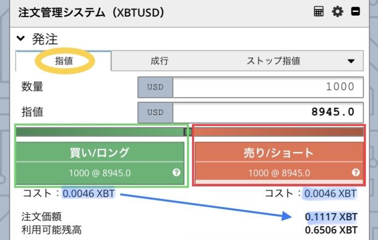bitmex注文管理システム
