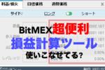 【図解ピヨ】知らないと損しまくってる??BitMEX損益計算ツールの使い方